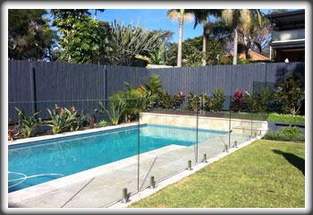 Mm X  X  Glass Pool Fence Panel Sydney